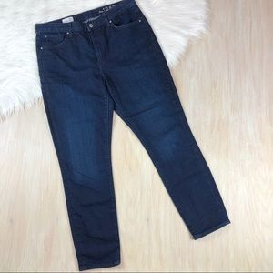 GAP Blue High Rise Skinny Denim Jeans 30